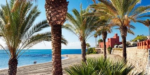 Vacances sur les plages d'Andalousie, avec vols