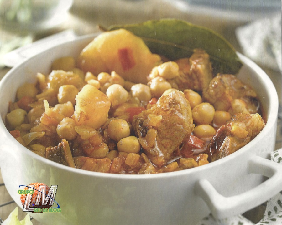Costillas con garbanzos blog de cocina sana recetas - Garbanzos con costillas ...