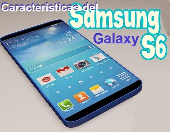 Características del Samsung Galaxy S6