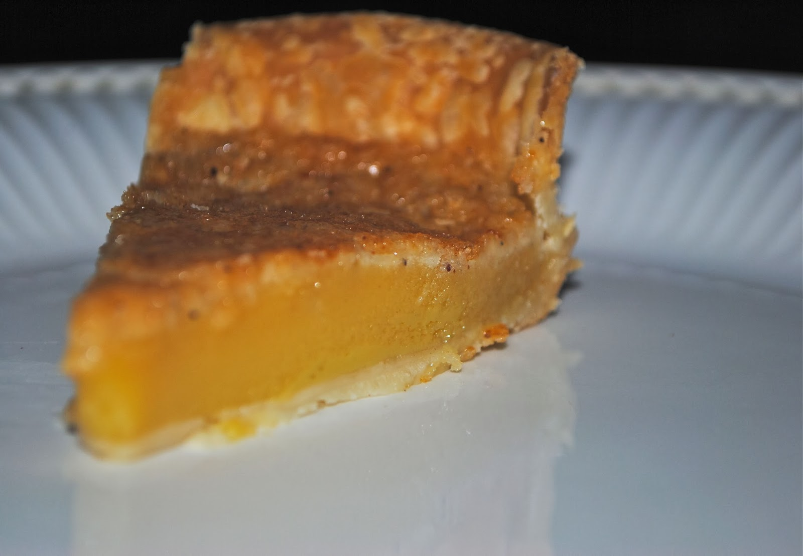 Recipe Doodle: TANGERINE CHESS PIE and CHOCOLATE CHESS PIE