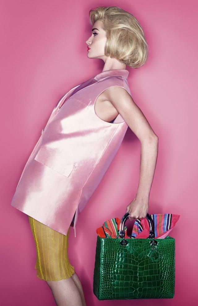 Rosie Huntington-Whiteley en Harper's Bazaar