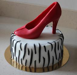 Stilettos cake