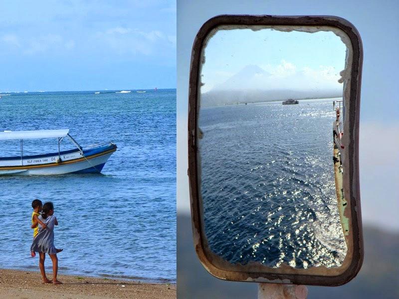 Ferry Java Bali plage mer