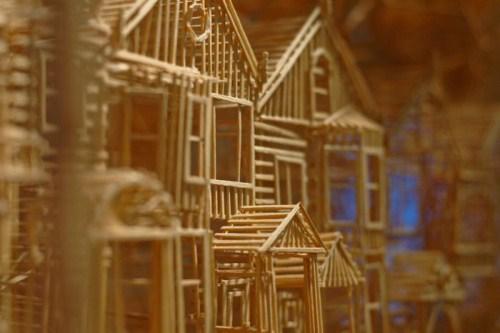 Amazing Toothpick Sculptures