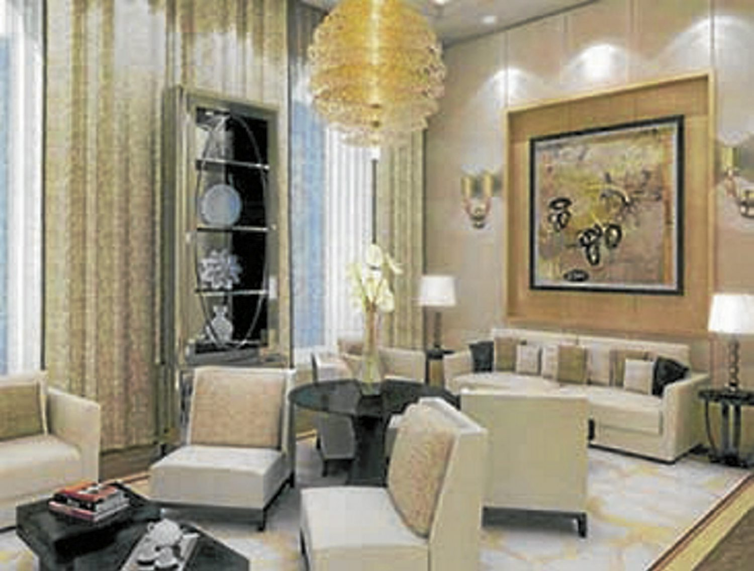 alpro archives antila most expensive home ambani s home features countless lounges offering reliance industries guests a quiet escape chandeliers and mirrors are a common feature of these rooms