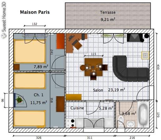 برنامج تصميم المنازل ثلاثي الأبعاد Sweet Home 3D | برو سوفت   ProSoft