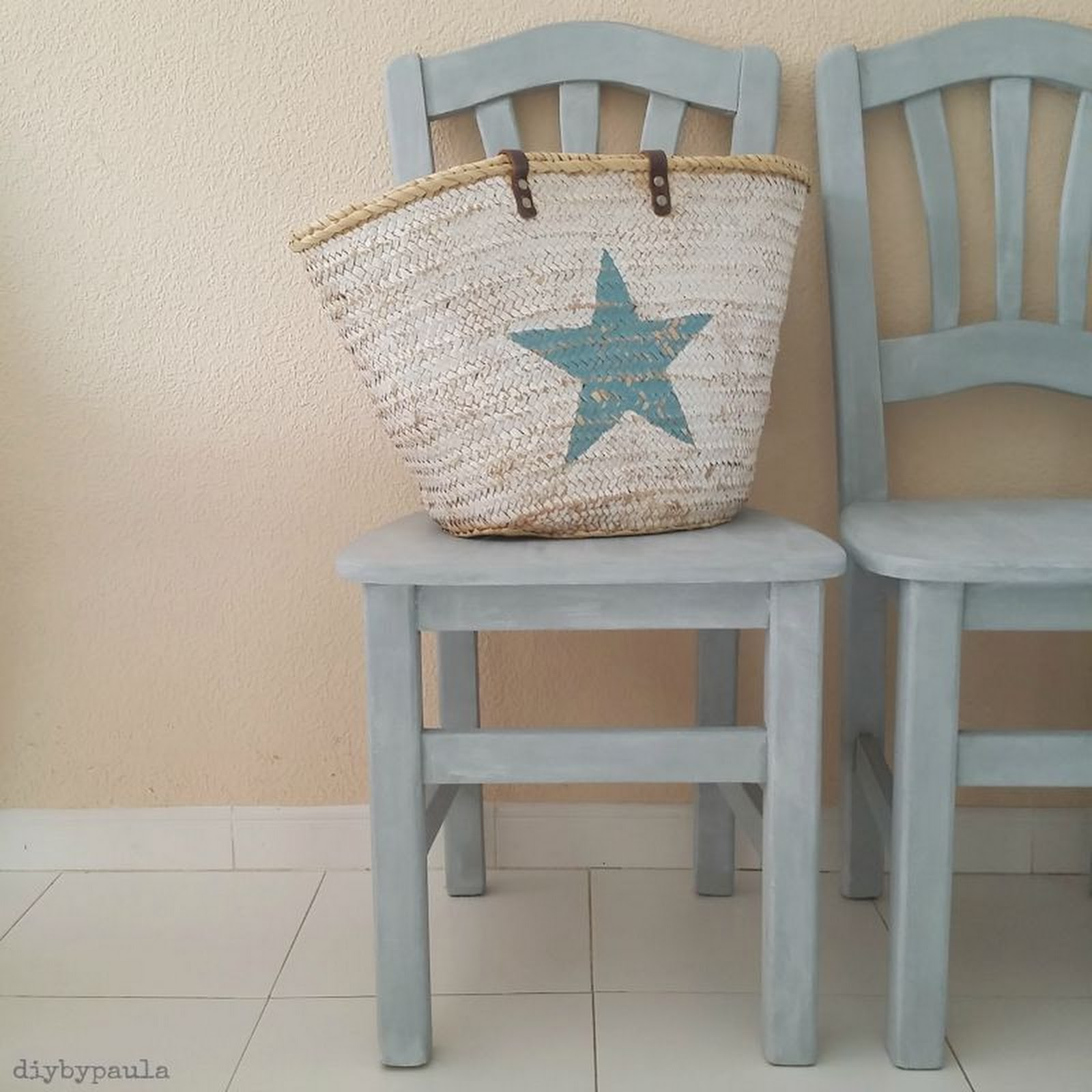 Sillas renovadas con Chalk Paint