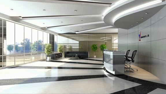 Foundation dezin decor office space in 3d model for Office design 3d max