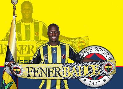 Moussa Sow Senegalese Goal Machine Super Striker Fenerbahçe Turkey Hd Desktop Wallpaper 1