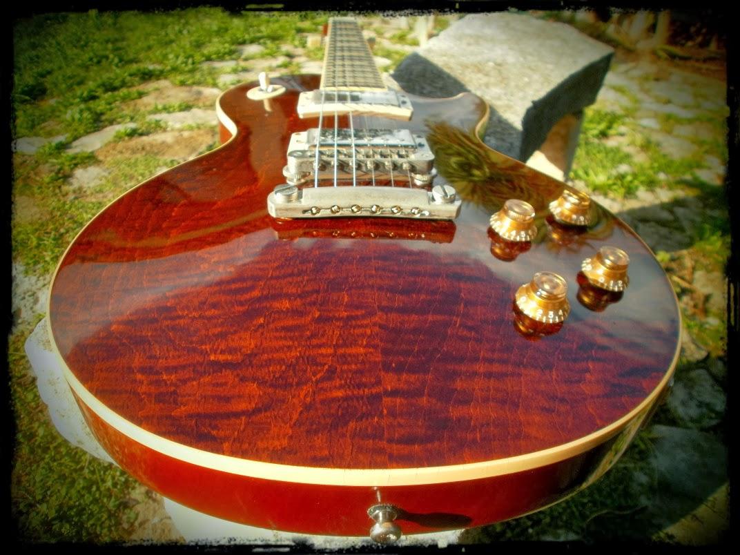 Voodoo Kramer: Gibson Les Paul Standard RootBeer QUILT Plus Top 2006 ...