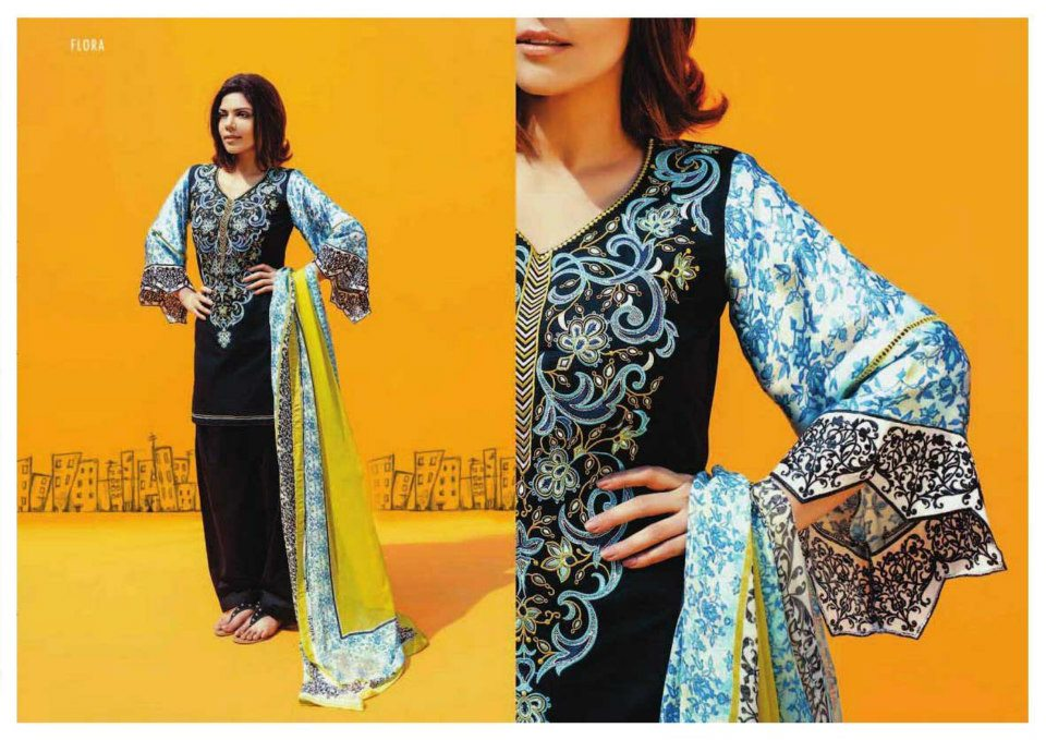 Hadiqa Kiyani Fabric Collcetion 2013