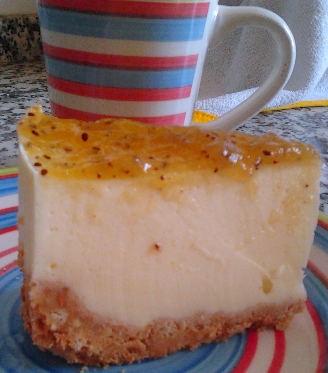 Mayvicake kiwi cheesecake for Azucar gelificante