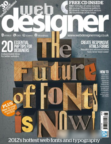 Web Designer Magazine - Issue 198 2012