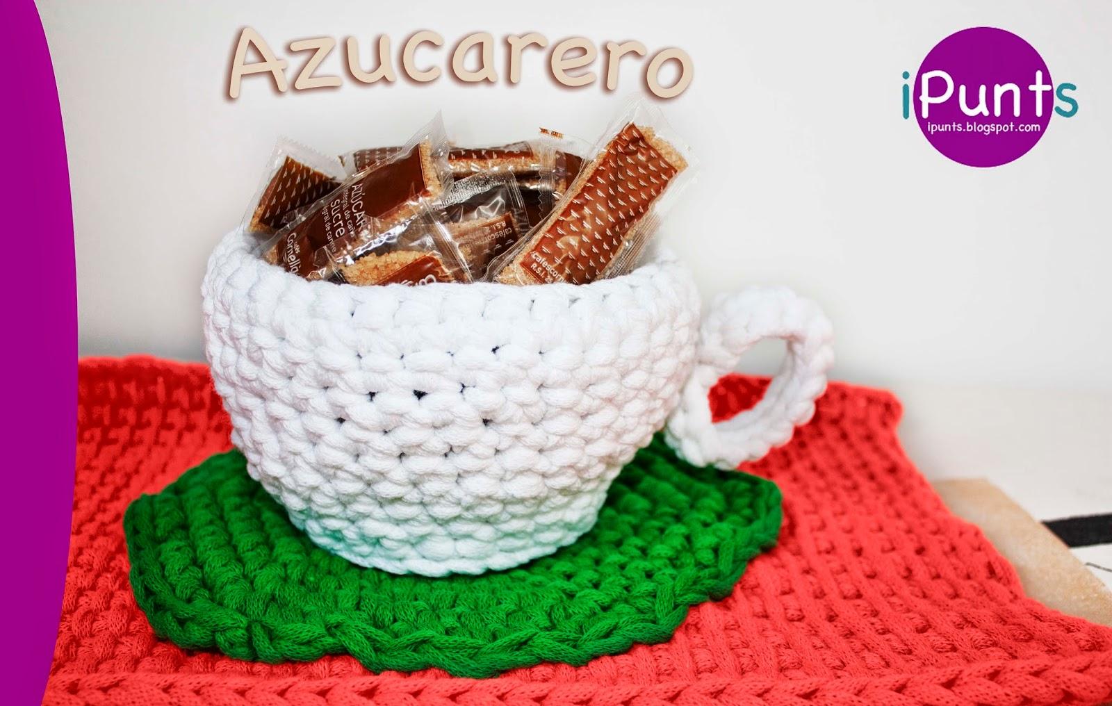 azucarero trapillo crochet ganchillo patron gratis ipunts