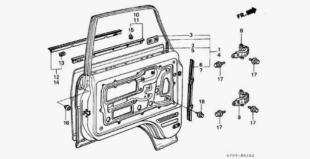 Car Door Parts Car Door Parts R Nongzico