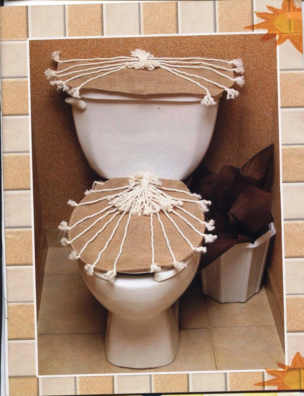 Декор в туалет своими руками
