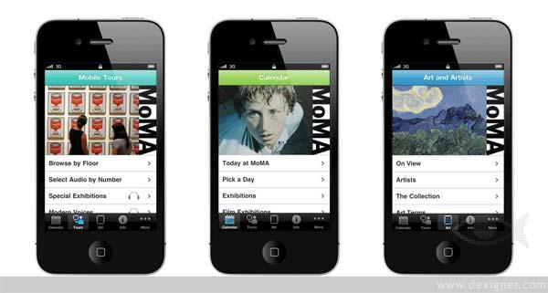 aplicaciones arte The MoMA iPhone App Nueva York smartphone tablet
