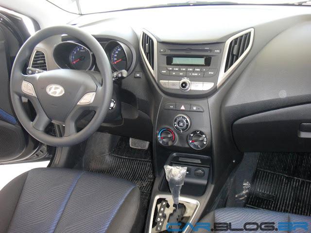 carro HB20 Hyundai Automático - painel