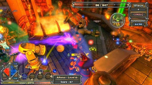 Ryan 39 s game ryviews dungeon defenders xbox 360 arcade ryview - Dungeon defenders 2 console ...