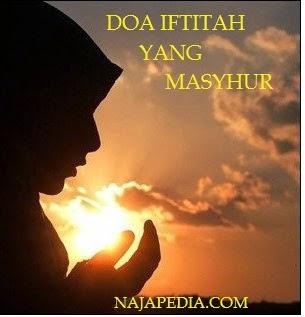 Doa iftitah Arab,Latin Dan Artinya Yang Masyhur