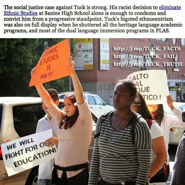 Let's stop right-wing bigot Marshall Tuck from capturing the SSPI seat