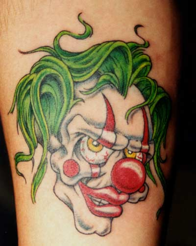 Clown Tattoos Design 5