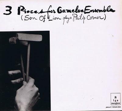 Phillip Corner-3 Pieces for Gamelan Ensemble