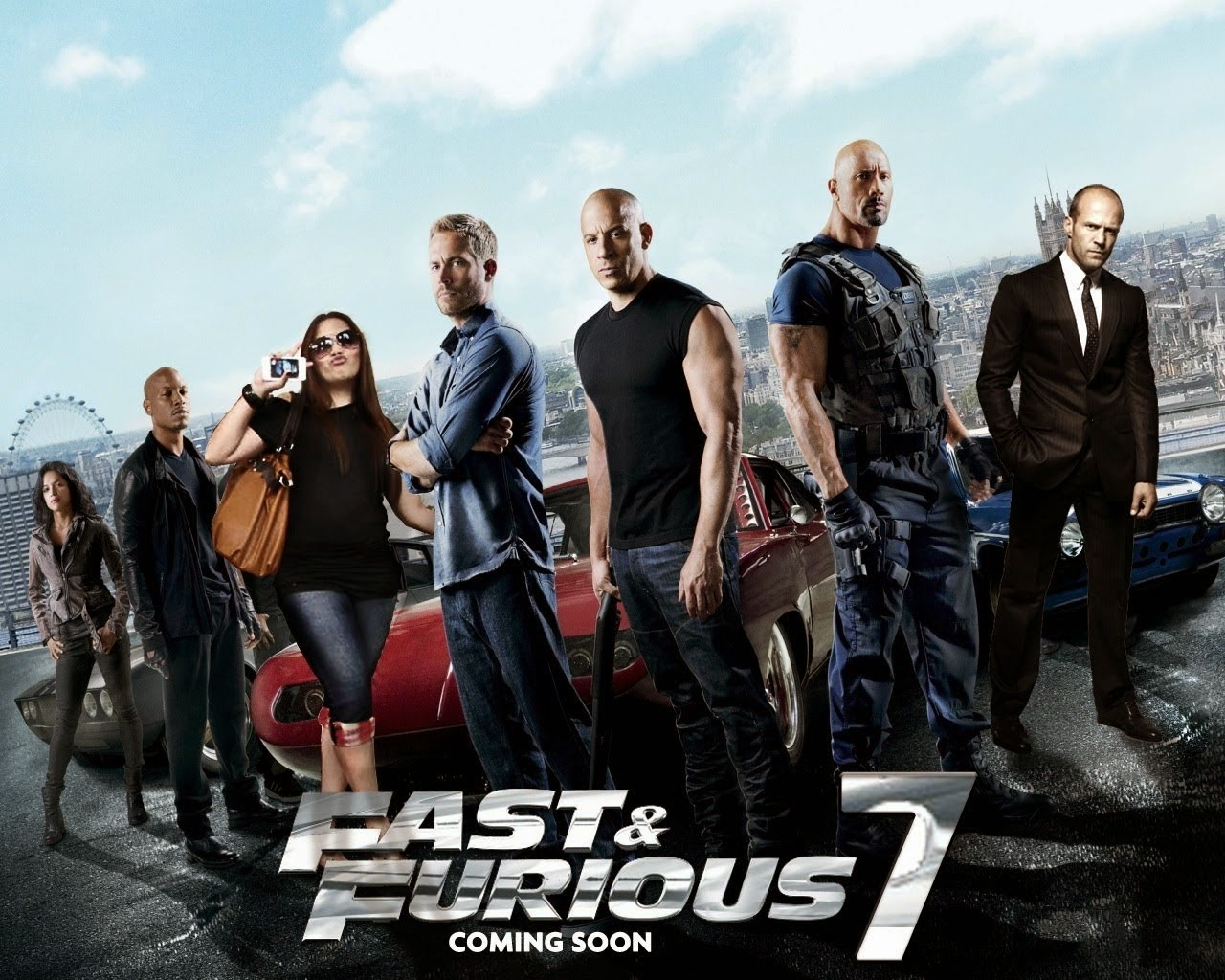 Fast and Furious 7 (2015) HDRIP tainies online oipeirates