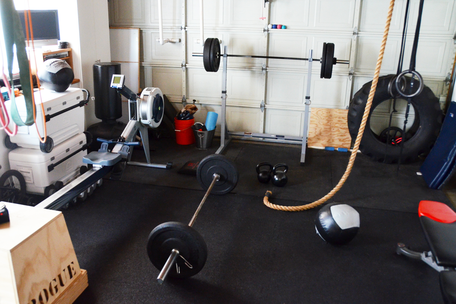 Fitbomb home sweet home gym - Images of home gyms ...