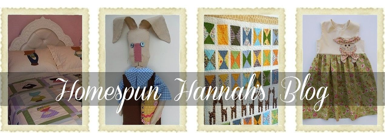 Homespun Hannah's Blog