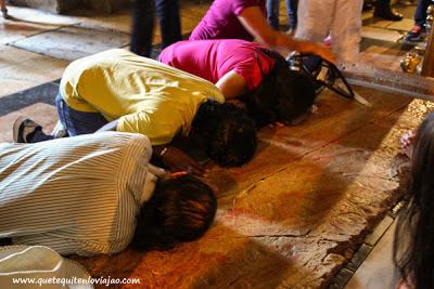 Santo sepulcro en Jerusalén - Viaje a Israel