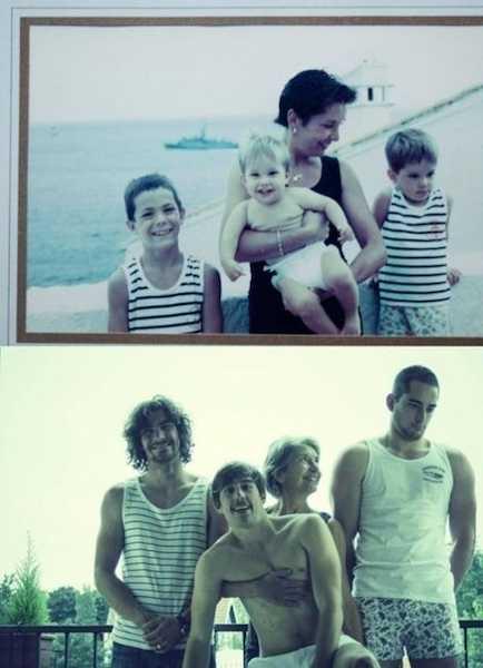 mamá y hermanos de niños y de grandes