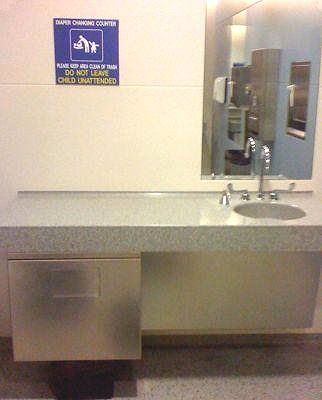 O'Hare Airport Chicago Public Toilettes