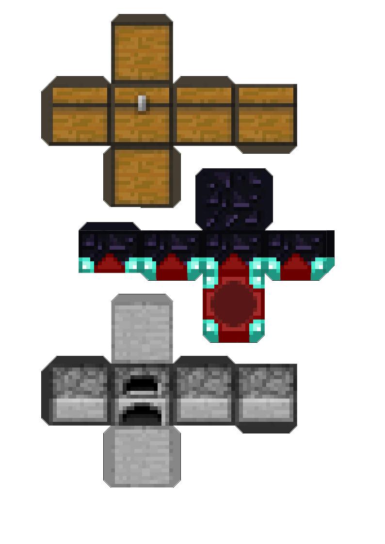 Minecraft Con Papel Dejalos En Tu Escritorio