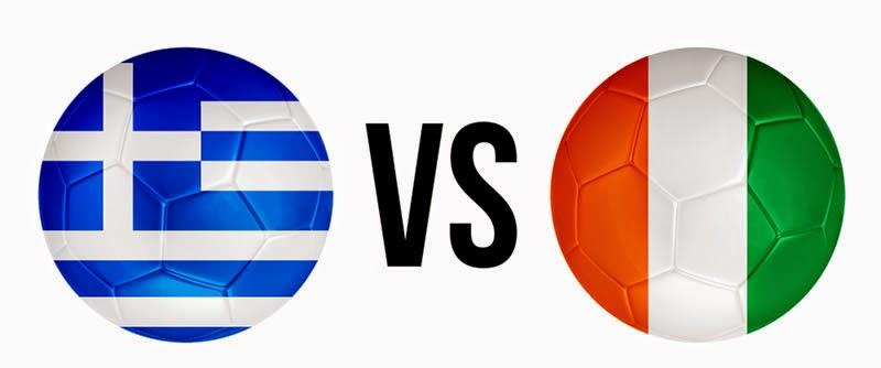 Grecia 2 - 1 Costa de Mafil (eliminada). Grupo C
