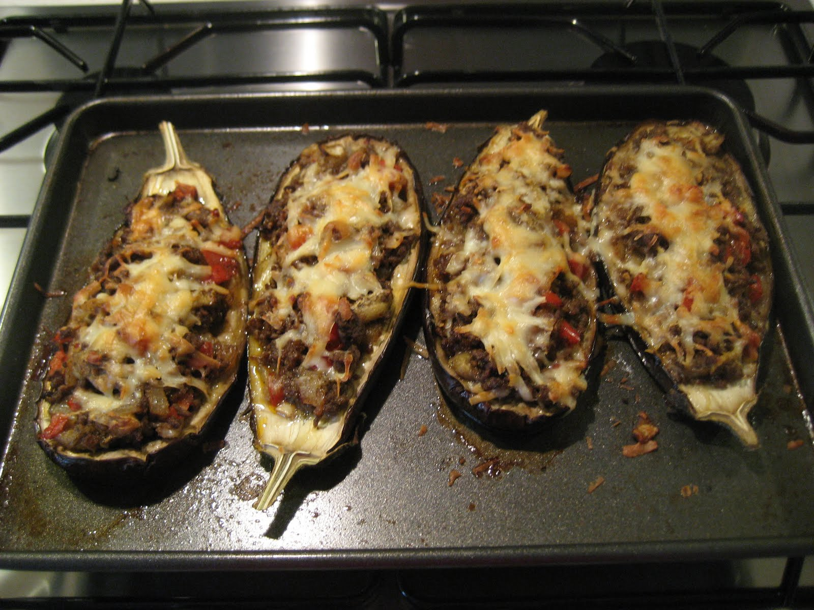 Rick Stein's Lamb-Stuffed Aubergines With Manchego Cheese Recipes ...