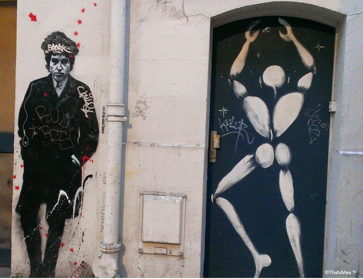 Street Art White man Jérôme Mesnager Paris Place de Clichy
