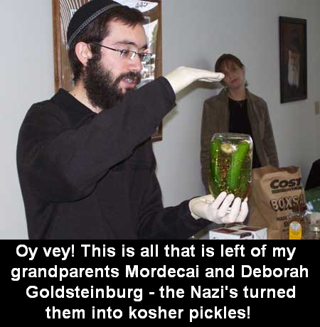 Image result for Jew on a stick