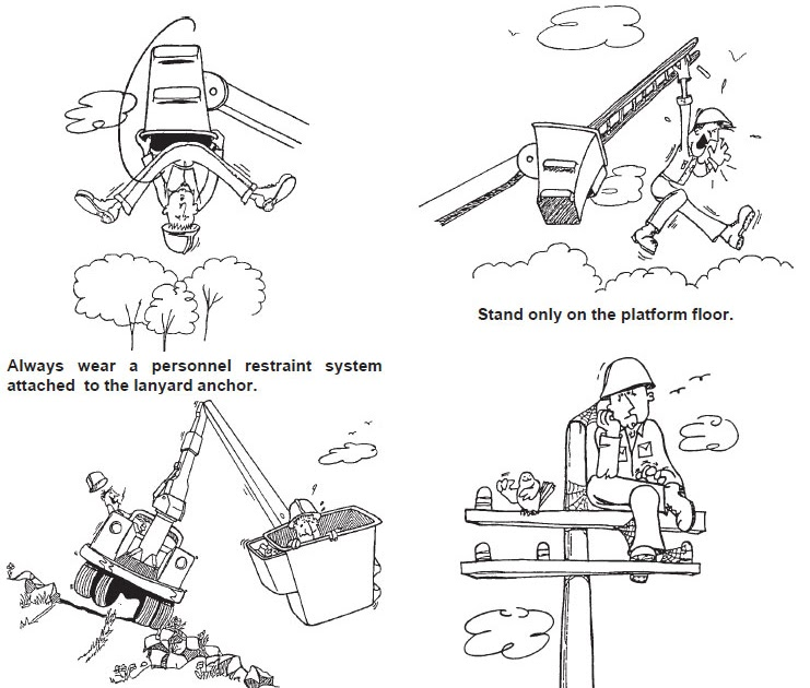 utility equipment blog  safety tips when operating aerial