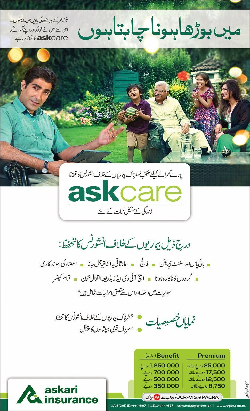 Askari Insurance | askcare in Pakistan