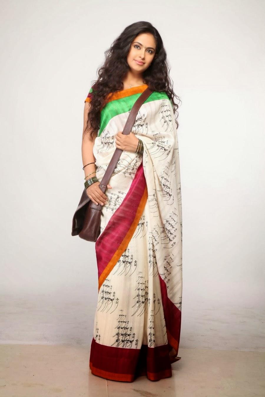 Avika Gor Photos In Designer White Saree