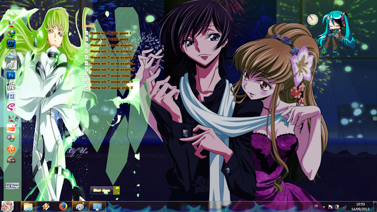 [ Theme Win 7 ] Code Geass 2