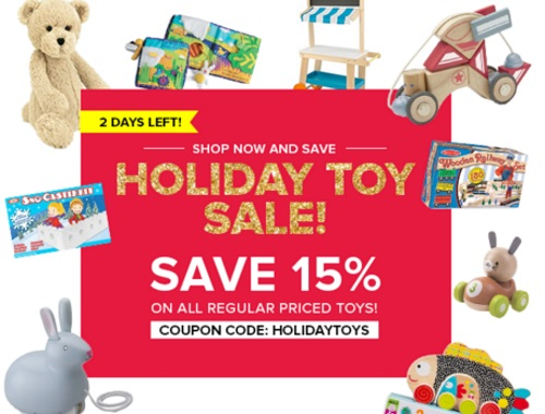 Well.ca Holiday Toy Sale 15% Off Promo Code