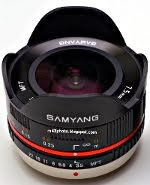 Samyang/Rokinon 7.5mm fisheye