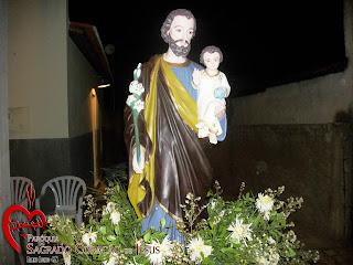 Imágens do encerramento do novenário em honra a São José