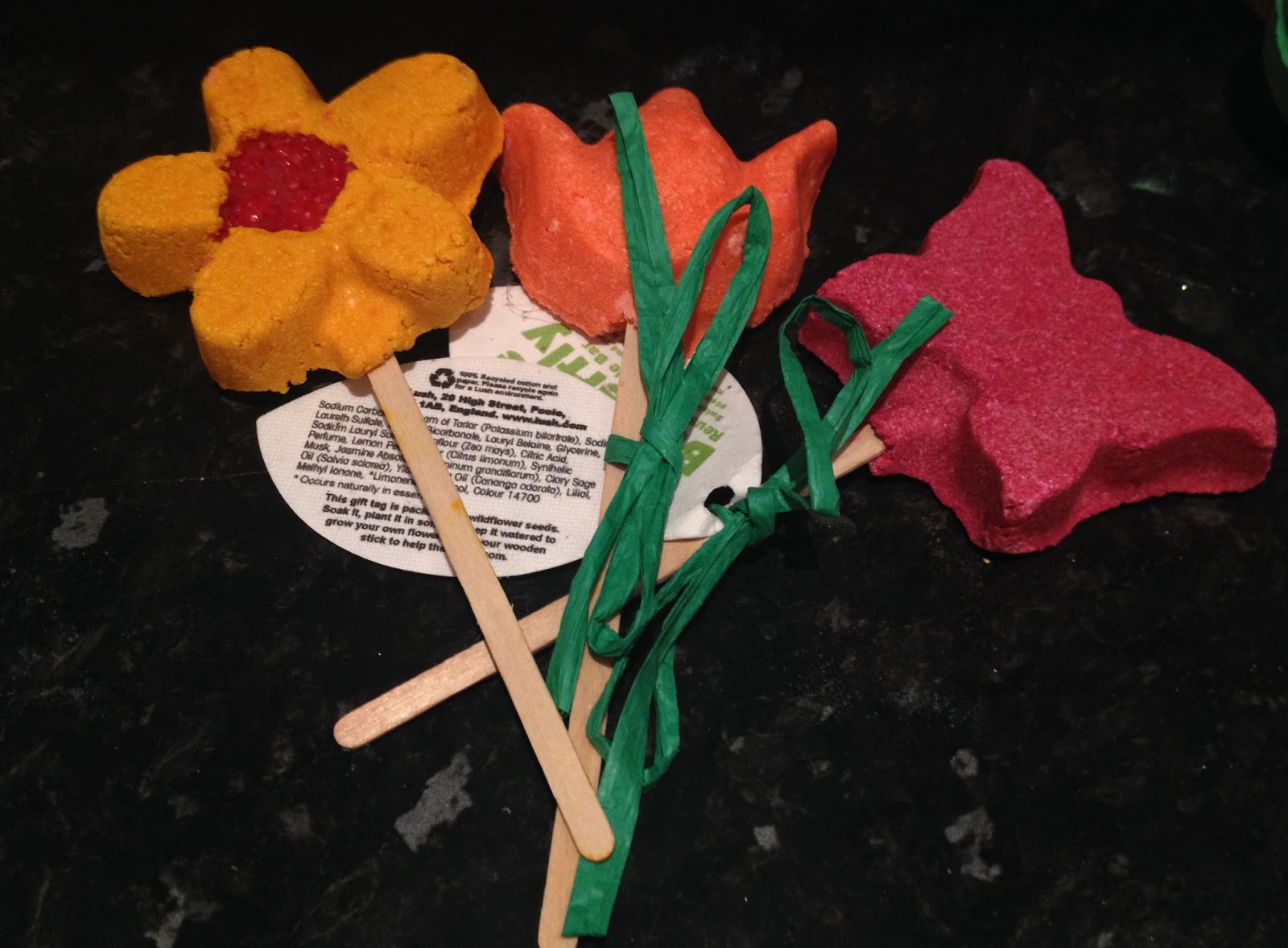 Lush's Mother's Day Range 2014, bubble wands