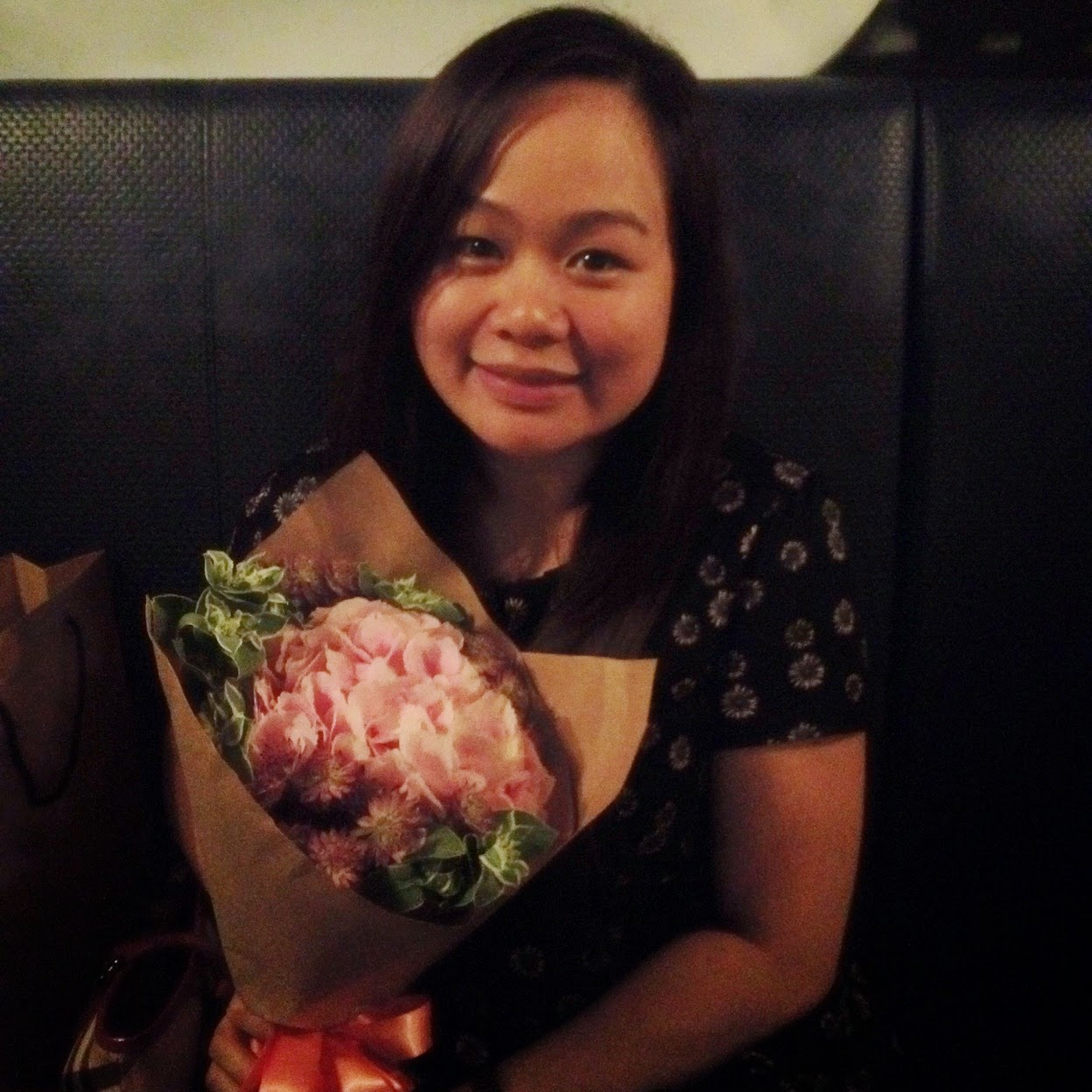 Flowers from Le Hubby! ❤
