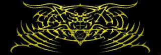 satanic immortal logo band black metal malang