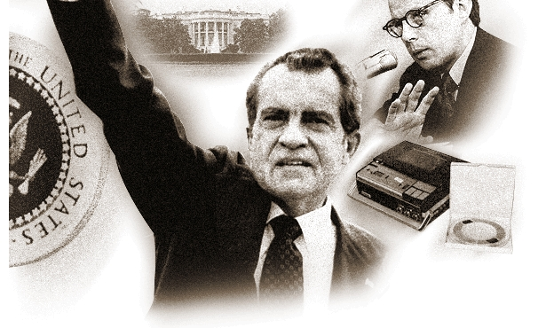 president nixon and the watergate scandal The watergate break-in had its roots in richard nixon's obsession with  the  senate appointed a special committee to investigate the watergate scandal.