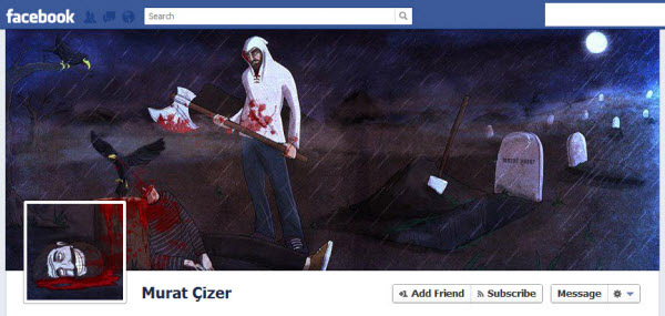 murat cizer facebookfever Amazing Creative Facebook Timeline Covers
